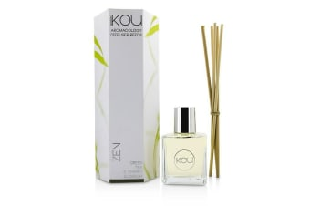 iKOU Aromacology Diffuser Reeds - Zen (Green Tea & Cherry Blossom - 9 months supply)
