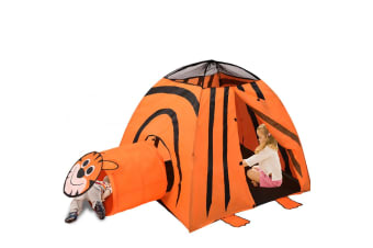 Outdoor Indoor Pop Up Kids Play Tent Tunnel Playhouse Children Home Portable