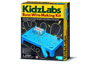 Buzz Wire Science Kit | 4M Kids Labs electronics electric game diy build toys