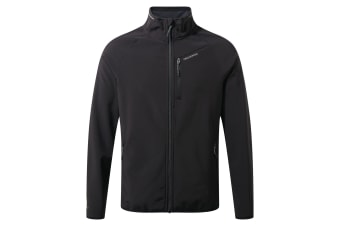 Craghoppers Mens Baird Softshell Jacket (Black) (S)