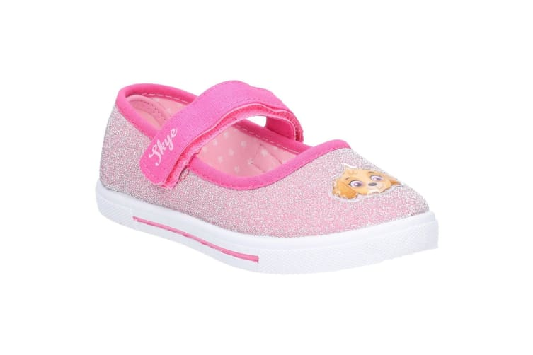 Leomil Girls Paw Patrol Touch Fastening Shoe (Fuchsia) (11 Child UK)