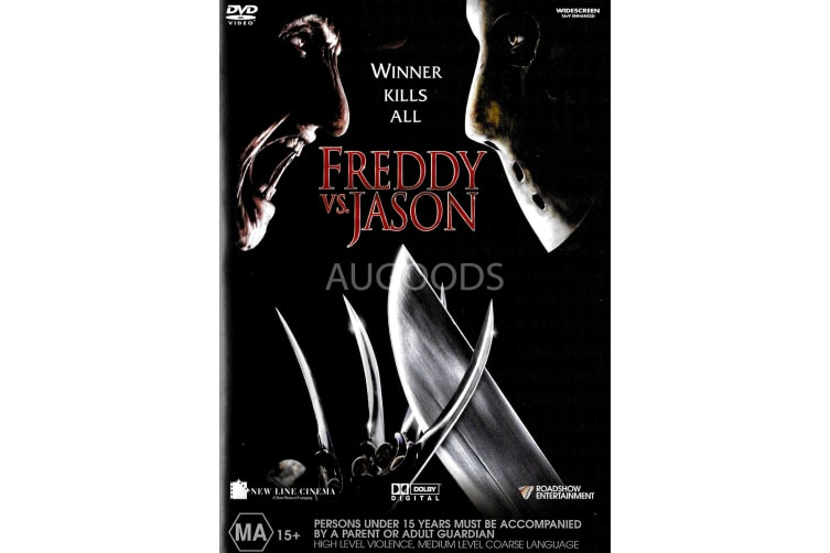 Freddy vs Jason - Region 4 Rare- Aus Stock DVD PREOWNED: DISC LIKE NEW