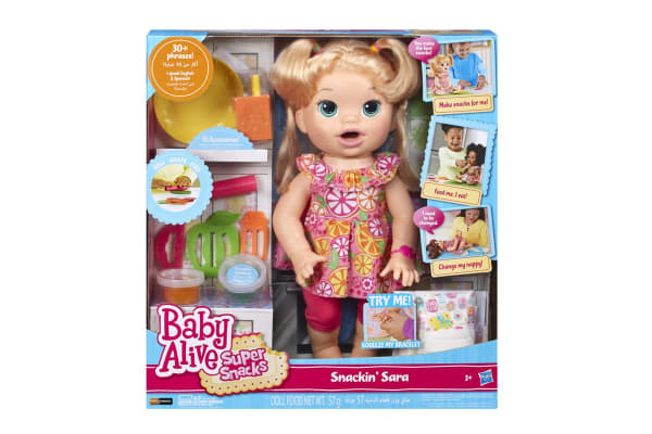 Baby Alive My Super Snackin' Baby