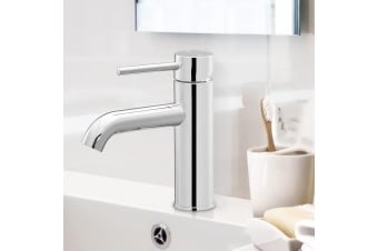 Cefito Bathroom Taps Mixer Tap Faucet Basin Vanity Above Counter Silver WELS