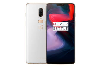 OnePlus 6 (128GB, Silk White)