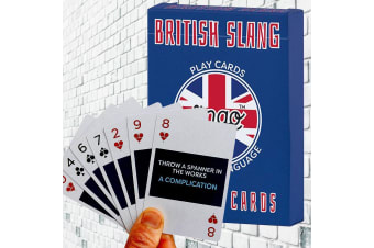 British Slang Playing Cards | Quirky Gift For Travellers! | by Lingo