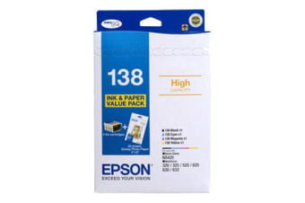 Epson 138 Original Black,Cyan,Magenta,Yellow Multipack 4 pc(s)