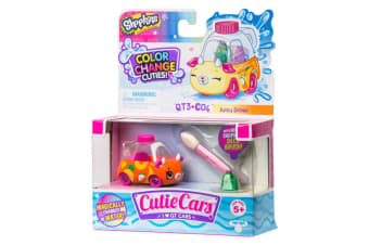 Shopkins Cutie Cars Color Change - Marble Motor