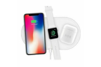 3in1 QI Wireless Charger Charging Station Dock for Apple Watch / iPhone/ AirPods