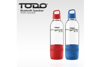 2X Bluetooth Water Bottle Speaker 400Ml Portable Rechargeable Bottled Speakers