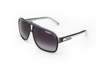 Carrera GRAND PRIX 2 T4M Black White Mens Womens Sunglasses