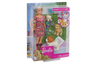 Barbie Doggy Daycare Doll with Pets