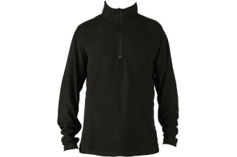 Elude Men's Snow 1/4 Zip Microfleece Midlayer Size XXL
