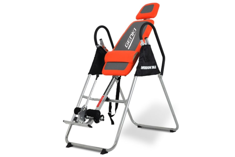 Genki Adjustable Inversion Table Folding Fitness Therapy