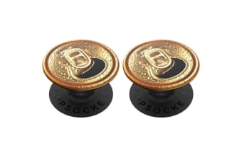 2x PopSockets Crack a Cold One Pop Grip Universal Swappable w/ Base for Phones