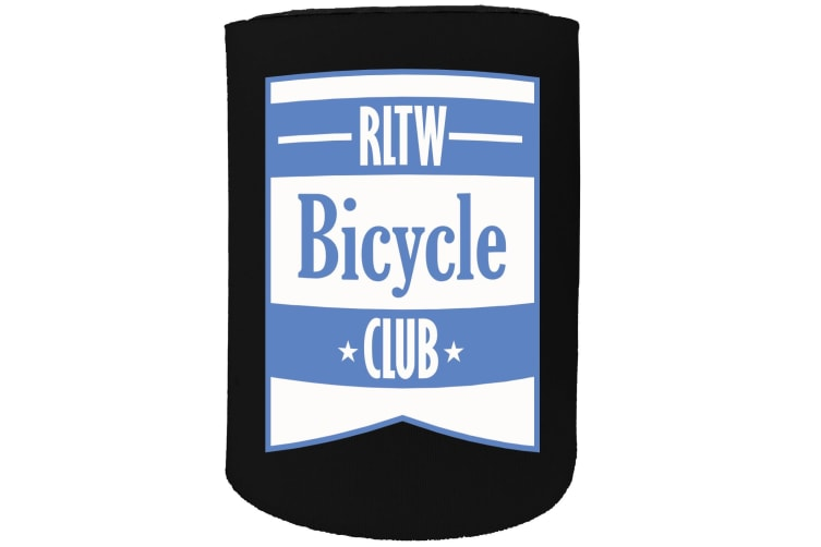 123t Stubby Holder - rltw BICYCLE CLUB CYCLING BICYCLE BIKE - Funny Novelty