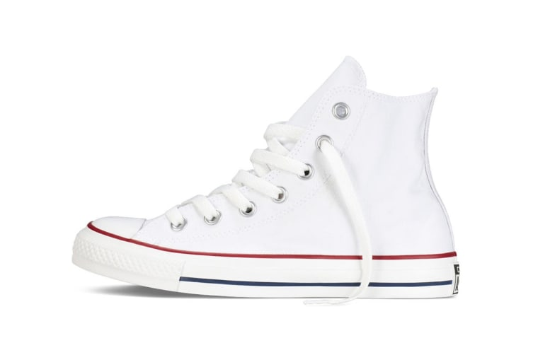 Converse Chuck Taylor All Star Hi (Optical White, US Mens 8 / US Womens 10)