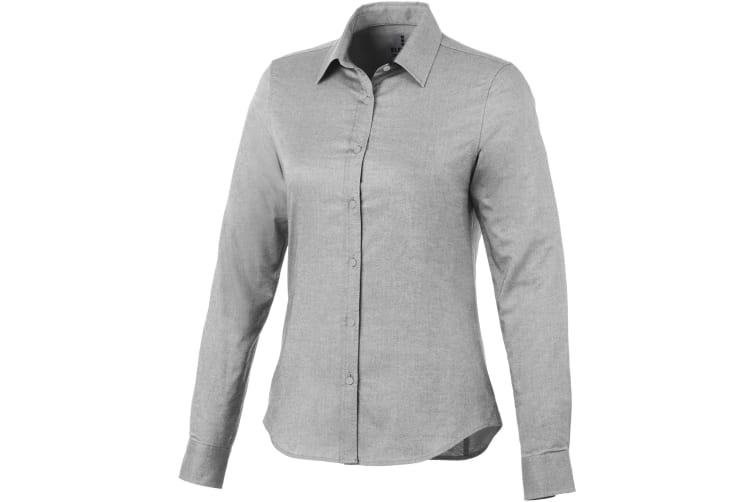 Elevate Vaillant Long Sleeve Ladies Shirt (Steel Grey) (L)