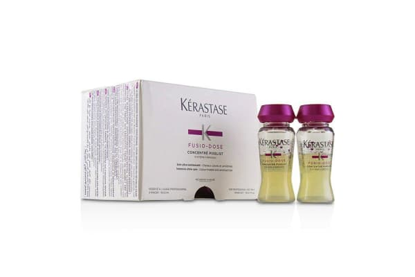 Kerastase Fusio-Dose Concentre Pixelist Intensive Shine Care - Colour-Treated and Sensitised Hair (Box Slightly Damaged) 10x12ml/0.4oz
