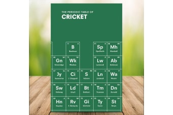 The Periodic Table of Cricket Book