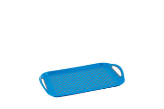 Avanti Rectangular Serving Tray 45cm Blue