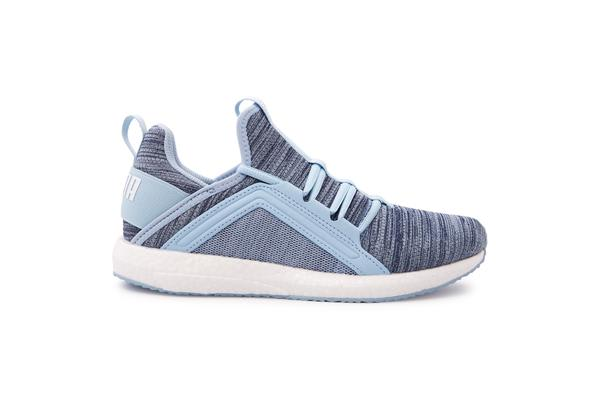 Puma Women's Mega Nrgy Heather Knit (Cerulean, Size 7)