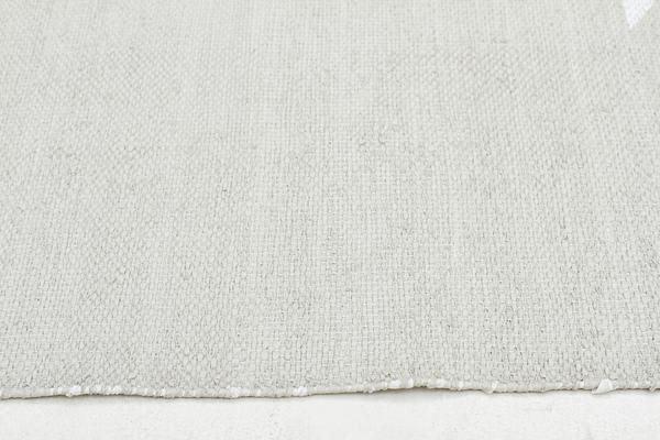 Coastal Indoor Out door Rug Star Taupe White 220x150cm