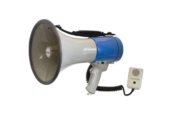 Doss 25W Handheld Megaphone With