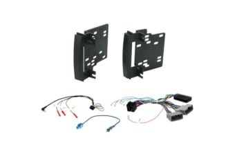 In-dash mounting Kits Suit Chrysler Jeep Dodge black colour