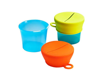 BOON SNUG Snack 4 Pack in Blue