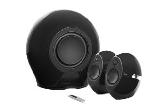 Edifier E235 Luna E 2.1 THX-Certified Active Bluetooth Speaker System with Optical 5.8G Wireless Subwoofer & 3.5mm AUX - Black (SPE-E235-BK)