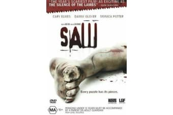 Saw  - Rare- Aus Stock DVD  PREOWNED: DISC LIKE NEW