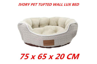 Large Washable Pet Dog Cat Puppy Bed Mattress Tufted Wall Soft Warm Durable Cushion