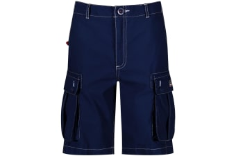 Regatta Childrens/Kids Shorefire Coolweave Cotton Canvas Shorts (Navy) (11-12 Years)