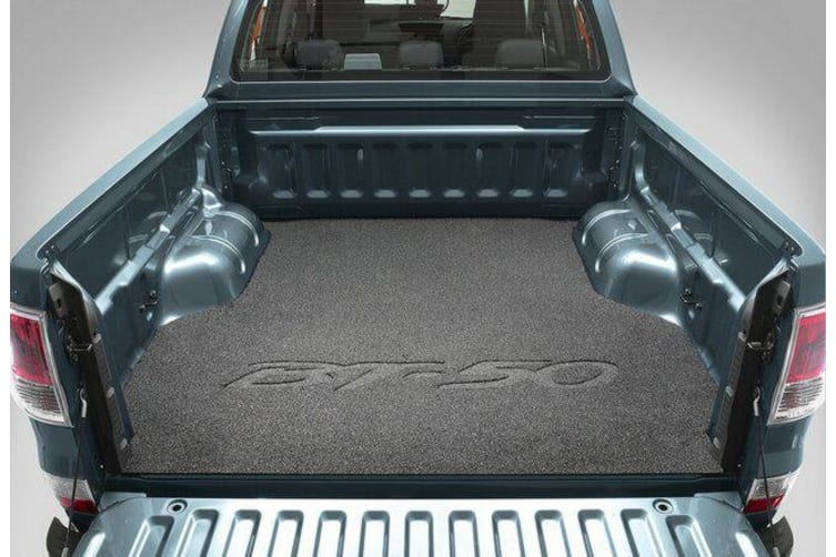 New Genuine Mazda BT-50 UP UR Ute Rubber Tray Mat Dual Cab 2011-Current UP1DACTM