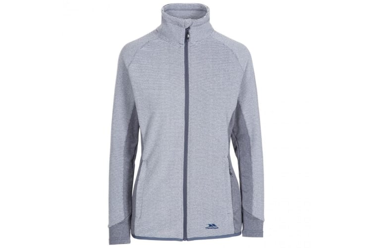 Trespass Womens/Ladies Detour Full Zip Fleece (Navy Stripe) (XXL)