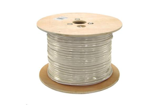 DYNAMIX 305M Cat6A 10G 500Mhz Grey  UTP    SOLID Cable