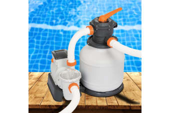 Bestway 1500GPH Flowclear Sand Filter Swimming Pool Cleaning Pump