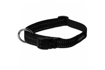 Rogz Dog Collar Black - XXL