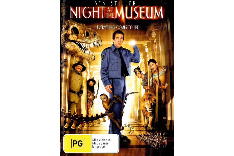 Night At The Museum -Family Region 4 Rare- Aus Stock DVD PREOWNED: DISC LIKE NEW