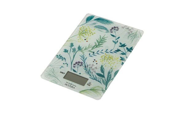 Accura Eros Electronic Scales Floral Print 5kg