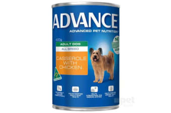 Advance Adult Casserole Chicken Cans - 12cans