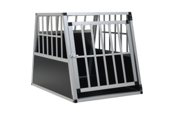 vidaXL Dog Cage with Single Door 65x91x69.5 cm