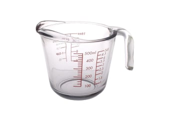 Kitchen Classics Glass Measure Jug 2 Cup/500ml Meauring Jug Tool
