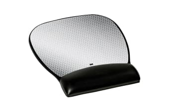 3M MW310LE PRECISE MOUSING SURFACE WITH GEL-FILLED WRIST REST LARGE ABSTRACT