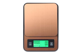 3Kg Stainless Steel Kitchen Scale W/ Temperature Detector Probe 0.1G Graduation Lcd Alarm