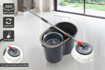 Kogan 360° Magic Mop with 5 Mop Heads