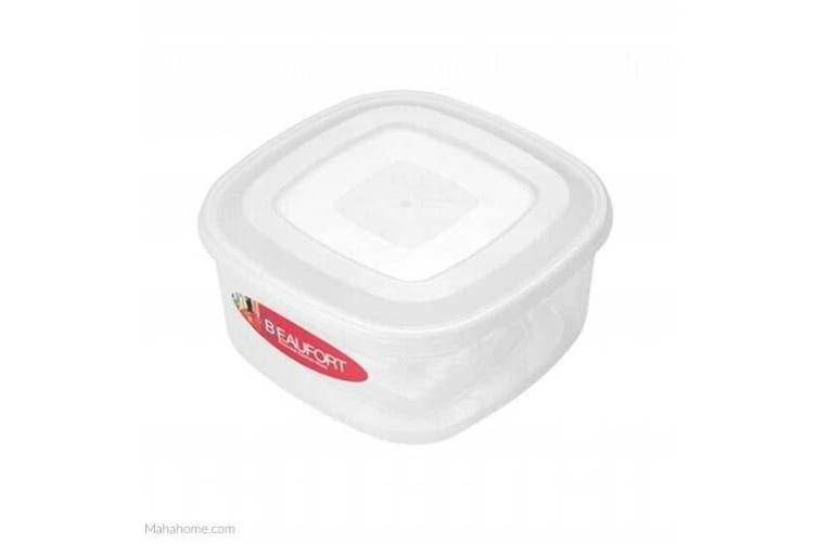 Beaufort Square Food Container (White) (20 x 9 x 20cm)
