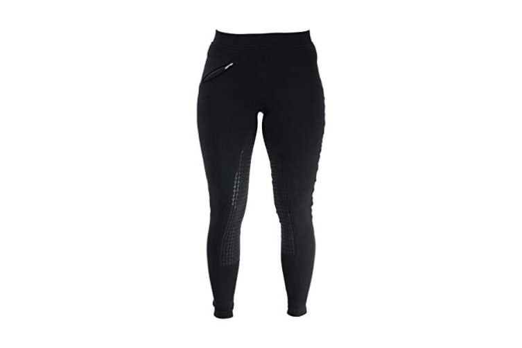 HyPERFORMANCE Womens/Ladies Hickstead Silicon Leggings (Black) (24in)