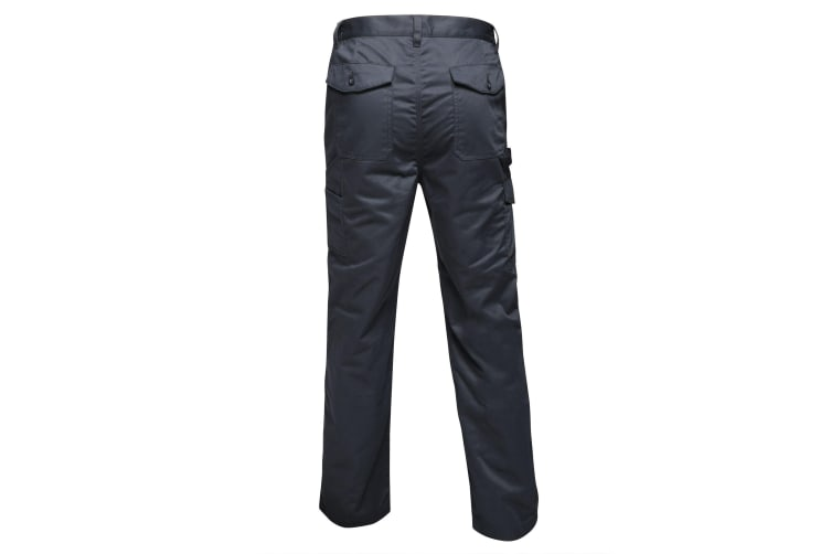 Regatta Mens Pro Cargo Waterproof Trousers - Long (Grey Blue) (38in)